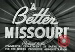 Image of developments in Missouri Missouri United States USA, 1937, second 10 stock footage video 65675036887