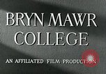Image of Bryn Mawr College Philadelphia Pennsylvania, 1948, second 9 stock footage video 65675036899