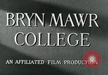 Image of Bryn Mawr College Philadelphia Pennsylvania, 1948, second 10 stock footage video 65675036899