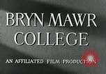 Image of Bryn Mawr College Philadelphia Pennsylvania USA, 1948, second 12 stock footage video 65675036899