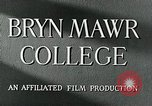 Image of Bryn Mawr College Philadelphia Pennsylvania, 1948, second 13 stock footage video 65675036899