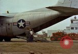 Image of Andes Airlift of construction equipment Chiloya Peru, 1966, second 8 stock footage video 65675036926