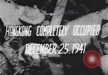 Image of British surrender of Hong Kong to Japan Japan, 1941, second 11 stock footage video 65675036946