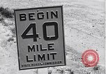 Image of signs on American highways United States USA, 1932, second 9 stock footage video 65675036982