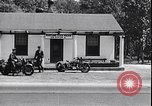 Image of Maryland State police motorcycle patrol officers United States USA, 1932, second 8 stock footage video 65675036983