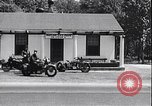 Image of Maryland State police motorcycle patrol officers United States USA, 1932, second 11 stock footage video 65675036983