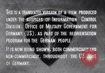 Image of Marshall Plan Europe, 1948, second 2 stock footage video 65675036984
