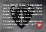 Image of Marshall Plan Europe, 1948, second 9 stock footage video 65675036984
