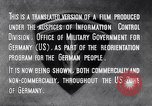 Image of Marshall Plan Europe, 1948, second 11 stock footage video 65675036984