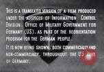 Image of Marshall Plan Europe, 1948, second 12 stock footage video 65675036984