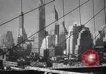 Image of British Ministry of War Transport New York City USA, 1944, second 10 stock footage video 65675036986