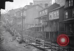 Image of Industrial factory slums and tenements in Great Depression United States USA, 1939, second 12 stock footage video 65675036989