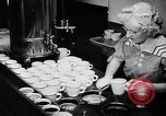 Image of Eating and cooking at Diners United States USA, 1939, second 12 stock footage video 65675036992