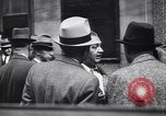 Image of traffic jam and pedestrians New York City USA, 1939, second 8 stock footage video 65675036993