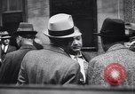 Image of traffic jam and pedestrians New York City USA, 1939, second 9 stock footage video 65675036993