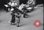 Image of traffic jam and pedestrians New York City USA, 1939, second 10 stock footage video 65675036993