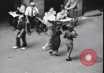 Image of traffic jam and pedestrians New York City USA, 1939, second 11 stock footage video 65675036993