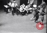 Image of traffic jam and pedestrians New York City USA, 1939, second 12 stock footage video 65675036993
