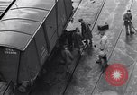 Image of loading a railway rolling stock United Kingdom, 1943, second 6 stock footage video 65675036995