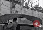 Image of DUKW amphibious vehicle Salerno Italy, 1943, second 1 stock footage video 65675036996