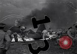 Image of plane crash Naples Italy, 1944, second 1 stock footage video 65675037003
