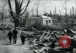 Image of destroyed town by tornado Michigan United States USA, 1964, second 8 stock footage video 65675037038