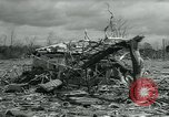 Image of destroyed town by tornado Michigan United States USA, 1964, second 10 stock footage video 65675037038