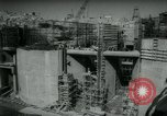 Image of building Aswan Dam Egypt, 1964, second 12 stock footage video 65675037039