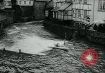 Image of White-Water Kayak race Europe, 1964, second 9 stock footage video 65675037040