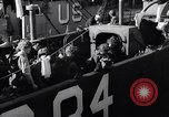 Image of U.S. troops boarding landing craft for Normandy invasion England, 1944, second 6 stock footage video 65675037050