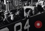 Image of U.S. troops boarding landing craft for Normandy invasion England, 1944, second 7 stock footage video 65675037050