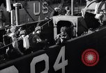 Image of U.S. troops boarding landing craft for Normandy invasion England, 1944, second 8 stock footage video 65675037050