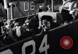 Image of U.S. troops boarding landing craft for Normandy invasion England, 1944, second 9 stock footage video 65675037050