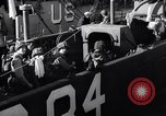 Image of U.S. troops boarding landing craft for Normandy invasion England, 1944, second 10 stock footage video 65675037050