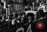 Image of U.S. troops boarding landing craft for Normandy invasion England, 1944, second 12 stock footage video 65675037050