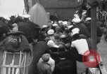 Image of US Coast Guard Lieutenant briefs crew prior to D-Day invasion England, 1944, second 11 stock footage video 65675037052