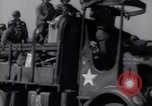 Image of U.S. war supplies come ashore at Normandy after D-Day Normandy France, 1944, second 8 stock footage video 65675037056