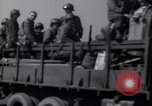 Image of U.S. war supplies come ashore at Normandy after D-Day Normandy France, 1944, second 9 stock footage video 65675037056