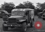 Image of 128th Evacuation Hospital France, 1944, second 11 stock footage video 65675037064
