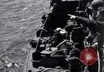 Image of invasion on Omaha Beach France, 1944, second 2 stock footage video 65675037066