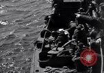 Image of invasion on Omaha Beach France, 1944, second 4 stock footage video 65675037066