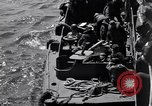 Image of invasion on Omaha Beach France, 1944, second 7 stock footage video 65675037066