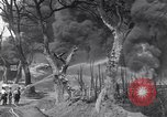 Image of bombed oil supply depot United Kingdom, 1944, second 4 stock footage video 65675037073