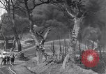 Image of bombed oil supply depot United Kingdom, 1944, second 7 stock footage video 65675037073