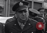 Image of film executives Bastogne Belgium, 1945, second 3 stock footage video 65675037081
