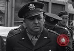 Image of film executives Bastogne Belgium, 1945, second 4 stock footage video 65675037081