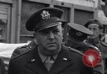 Image of film executives Bastogne Belgium, 1945, second 6 stock footage video 65675037081