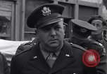 Image of film executives Bastogne Belgium, 1945, second 7 stock footage video 65675037081