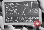 Image of Japanese Registration Control Station San Francisco California USA, 1942, second 2 stock footage video 65675037093