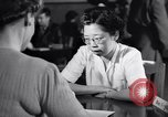 Image of Japanese Registration Control Station San Francisco California USA, 1942, second 8 stock footage video 65675037093